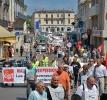 Manifestation amiante Mont de Marsan 29 juin 2009