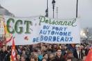 Manifestation Bordeaux 29 janvier 2009