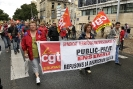 manifestation CGT Bordeaux du 7 septembre 2010